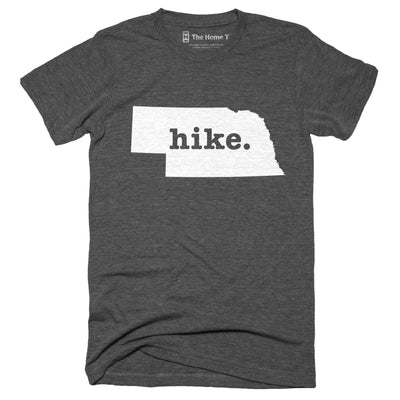 Nebraska Hike Home T-Shirt Outdoor Collection The Home T XXL Grey