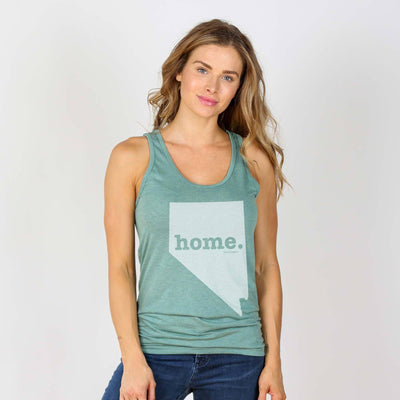 Nevada Home Tank Top Tank Top The Home T XS Sea Green