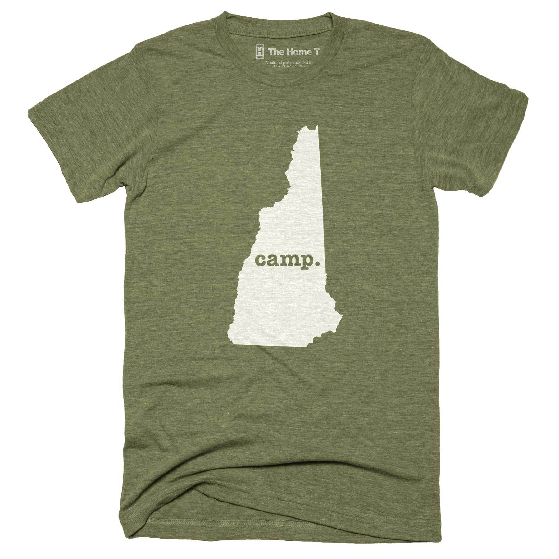 New Hampshire Camp Home T-Shirt