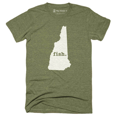 New Hampshire Fish Home T-Shirt