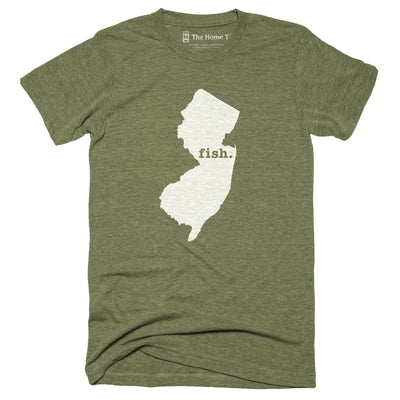 New Jersey Fish Home T-Shirt