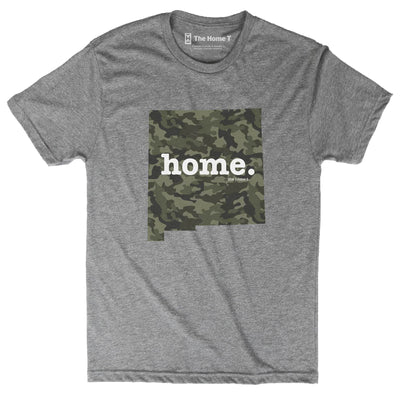 New Mexico Camo Limited Edition Camo Limited Edition The Home T XS Athletic Grey