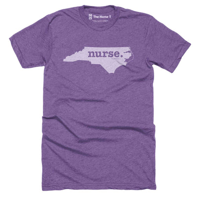 North Carolina Nurse Home T-Shirt