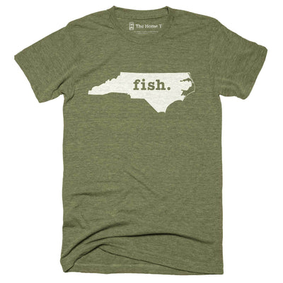 North Carolina Fish Home T-Shirt