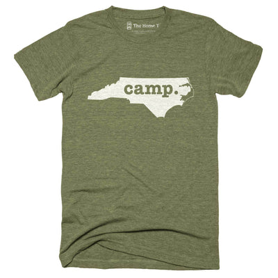 North Carolina Camp Home T-Shirt