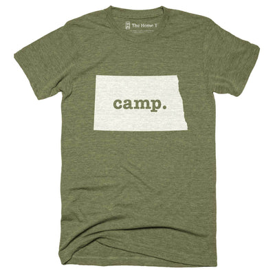 North Dakota Camp Home T-Shirt