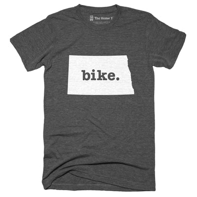 North Dakota Bike Home T-Shirt