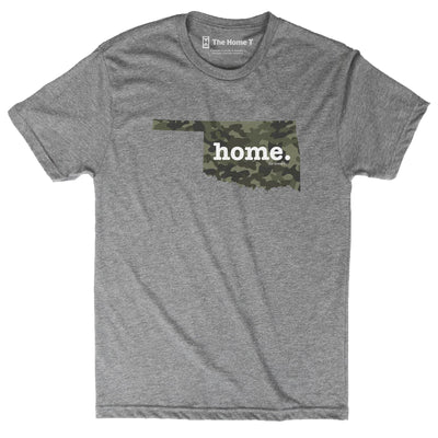 Oklahoma Camo Limited Edition Camo Limited Edition The Home T XS Athletic Grey