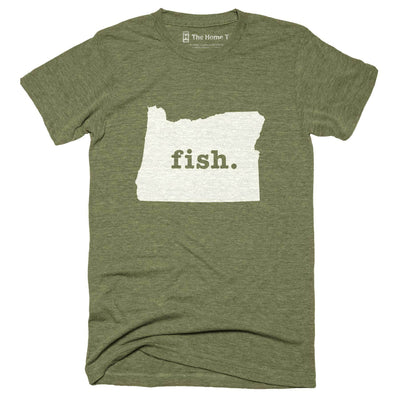 Oregon Fish Home T-Shirt