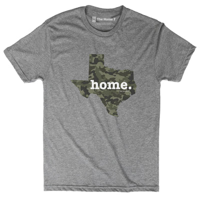 Texas Camo Limited Edition Camo Limited Edition The Home T XXL Athletic Grey