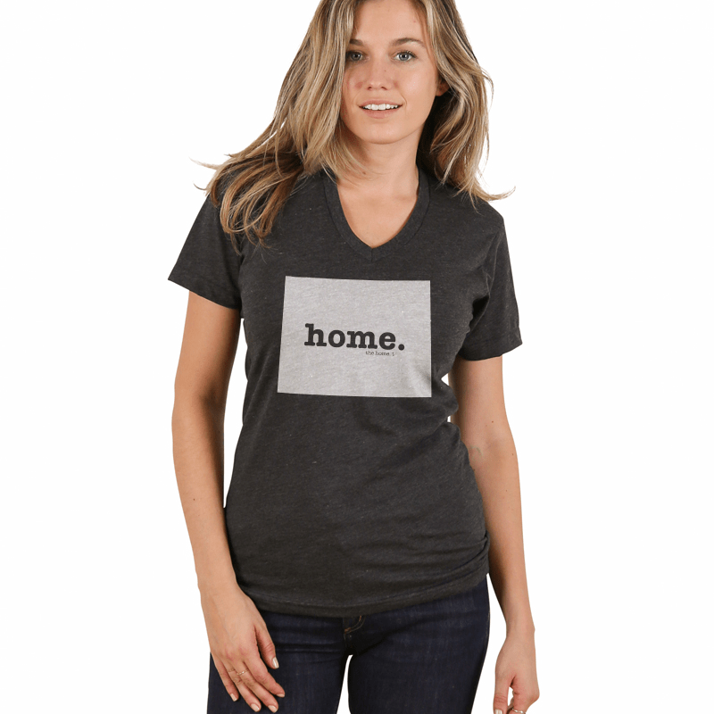 Wyoming Home V-neck