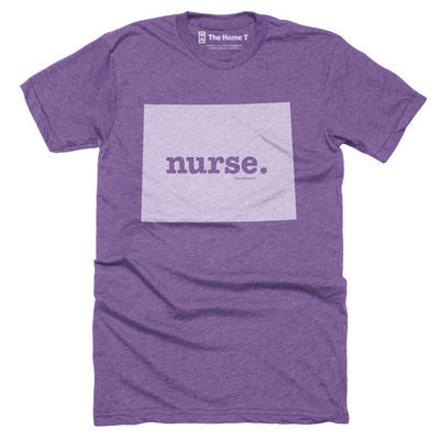 Wyoming Nurse Home T-Shirt Occupation The Home T