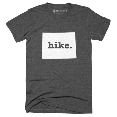 Wyoming Hike Home T-Shirt Outdoor Collection The Home T XXL Grey
