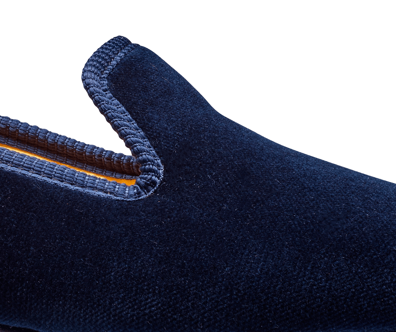 Plain Albert Navy Velvet