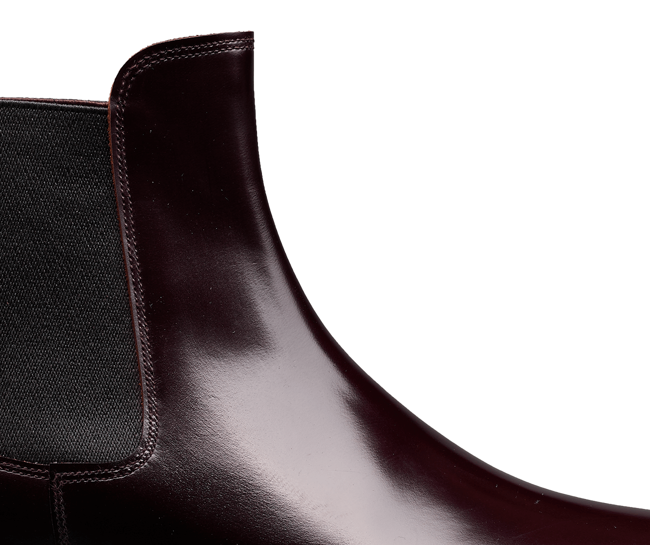 Poppy Burgundy Cavalry Calf