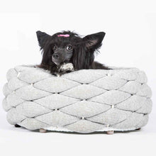 Afbeelding in Gallery-weergave laden, Laboni in- en outdoormand in zilver met hond