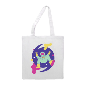 Galactic Canvas Tote Bag