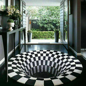 Optical Illusion Rug