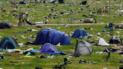 "'Clean Up Britain' Proposes a ""Tent Tax"" to Offset Festival Pollution"