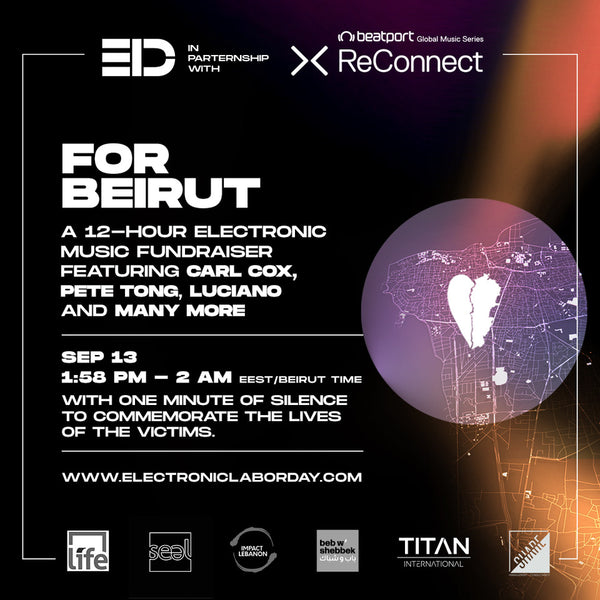 Carl Cox, Pete Tong, More To Perform at Beirut Fundraiser Livestream