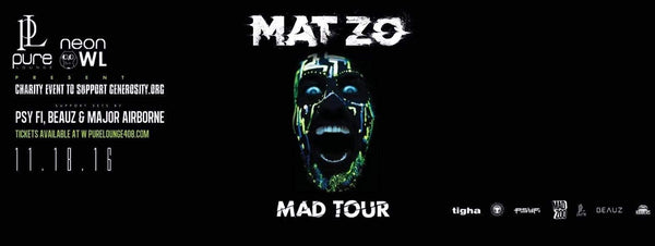 Neon Owl Hosts Charity Event With Mat Zo's 'Mad Tour'