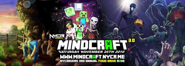 NYCRavers Hosts Minecraft Themed Rave + Food Drive
