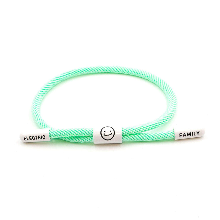 Good Times New School Bracelet (Diamond/White) - New School Bracelet - Electric Family Official Artist Merchandise