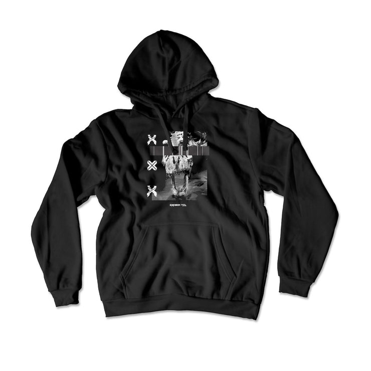 Excision T-rex Hoodie - Hoodie - Electric Family Official Artist Merchandise