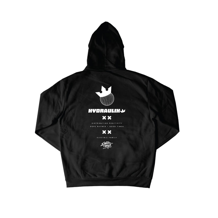 EF x Hydraulix Hoodie - Hoodie - Electric Family Official Artist Merchandise