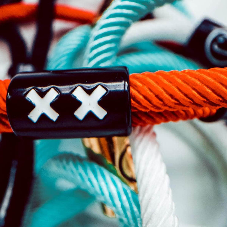 XX New School Bracelet (Red/Black) - New School Bracelet - Electric Family Official Artist Merchandise