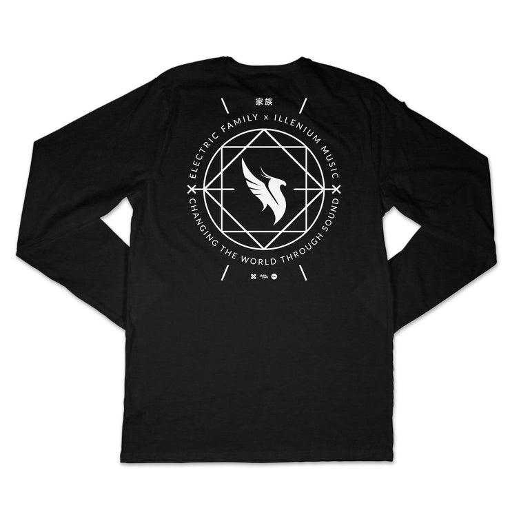 Illenium Phoenix Long Sleeve - Long Sleeve - Electric Family Official Artist Merchandise