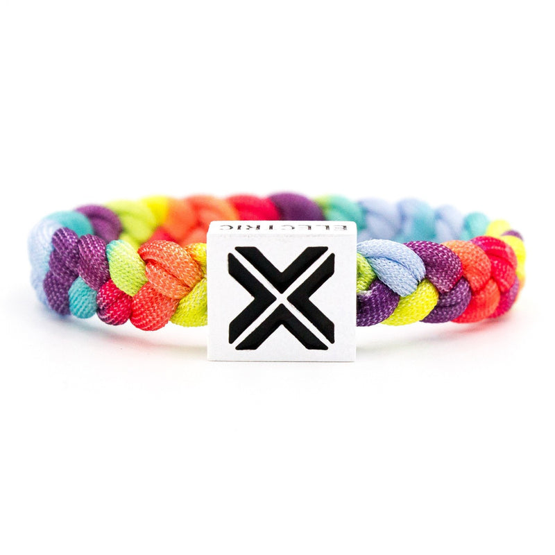 Unity Bracelet (White Clasp) - Original Woven - Electric Family Official Artist Merchandise