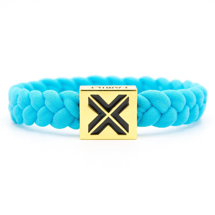 X Bracelet (Gold Clasp) / Diamond - Electric Family