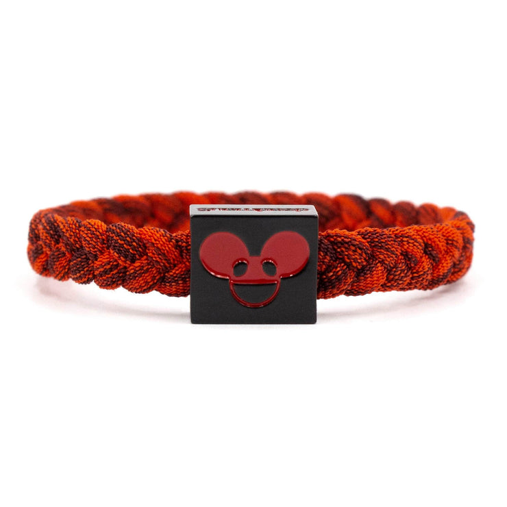 Deadmau5 Black & Red Bracelet - Artist Series - Electric Family Official Artist Merchandise