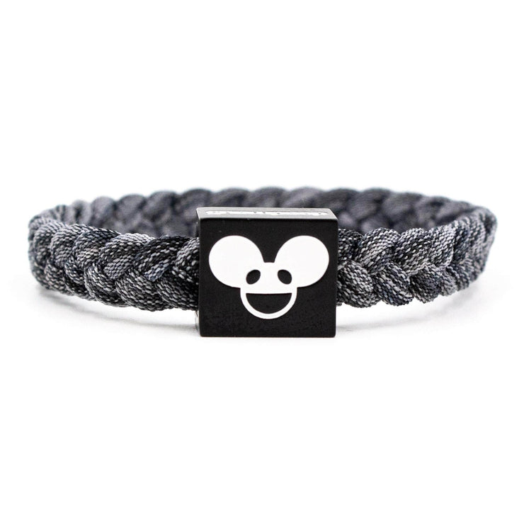 Deadmau5 Black & White Bracelet - Electric Family Official Artist Merchandise