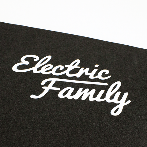 Script / Die Cut Sticker White