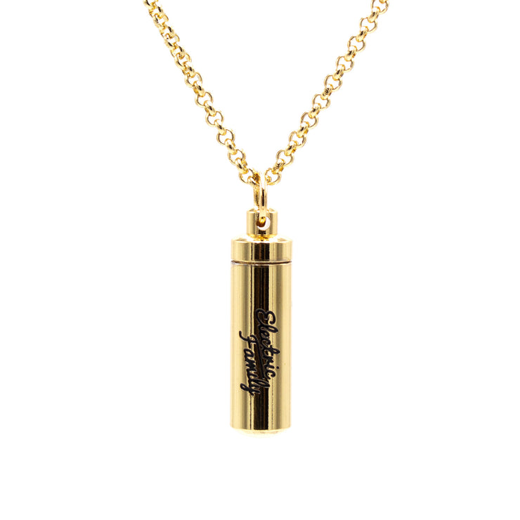 Love Note Necklace - Gold