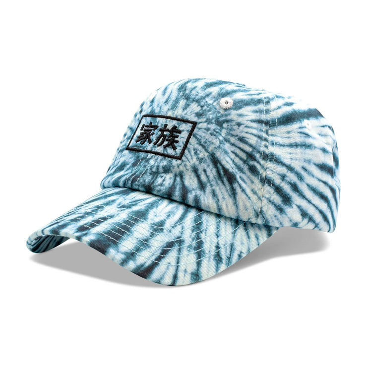 Kazoku Tie Dye Hat - Dad Hat - Electric Family Official Artist Merchandise
