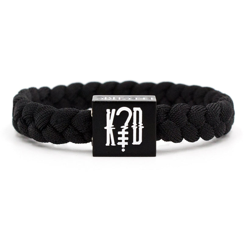 k?d Bracelet (Black) - Artist Series - Electric Family Official Artist Merchandise
