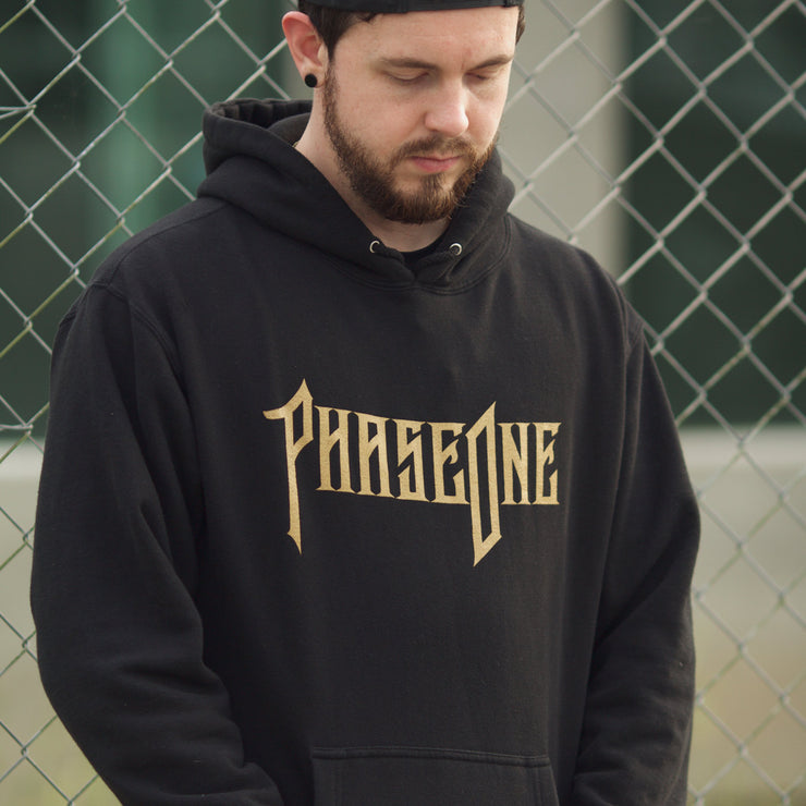 Phase One Gold Skull Hoodie