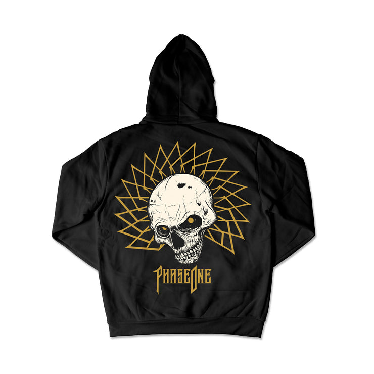 Phase One White Skull Hoodie