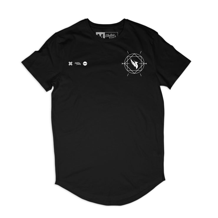 Illenium Phoenix Scoop Tee - Scoop tee - Electric Family Official Artist Merchandise