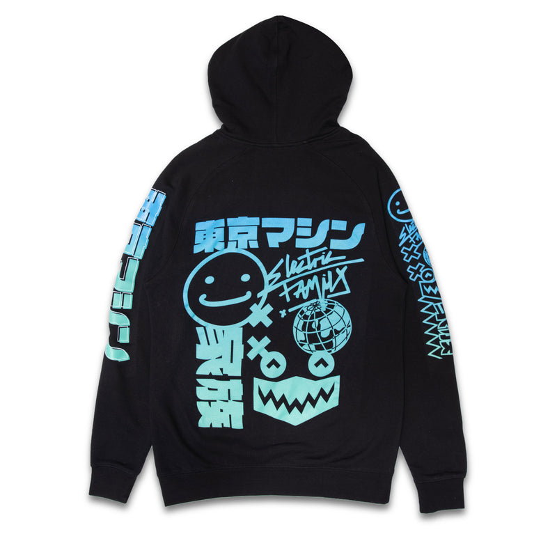 EF x Tokyo Machine Hoodie - Hoodie -  Electric Family-  Electric Family Official Artist Merchandise