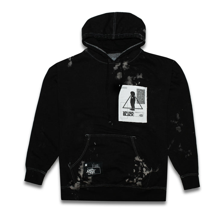 EF x William Black Dye Hoodie