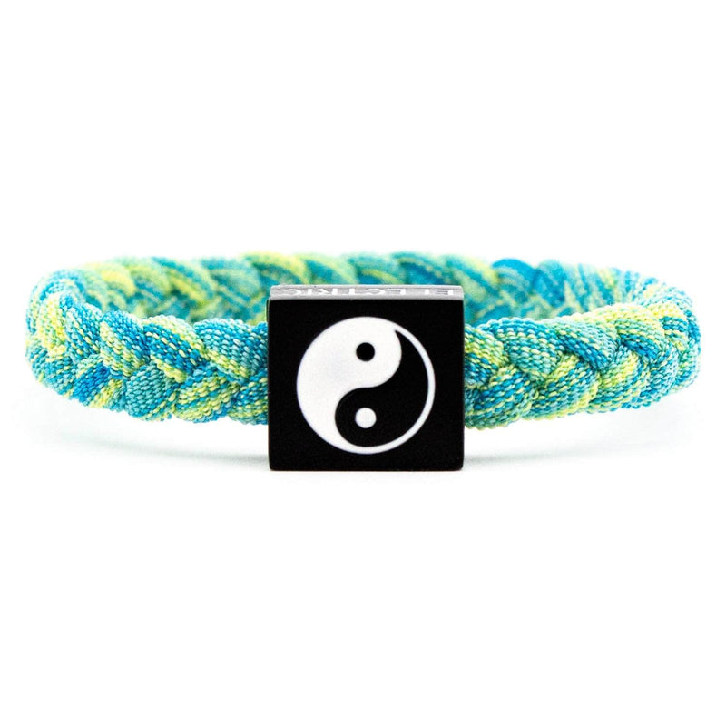 Ying Yang Bracelet / GREEN MCC - Original Woven - Electric Family Official Artist Merchandise