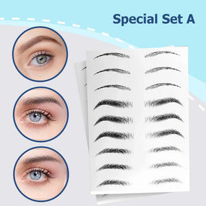 3D Natural Long Lasting Brows Sticker 6 Months Set