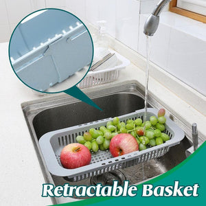 Adjustable Kitchen Draining Basket