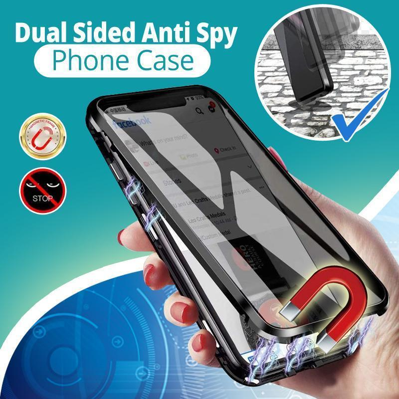 Dual Sided Anti Spy Phone Case