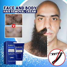 Load image into Gallery viewer, Face and Body Hair Removal Cream