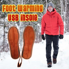 Load image into Gallery viewer, Foot Warming USB Insole